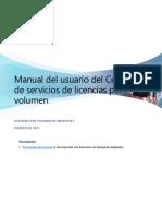 VLSC User Guide Spanish