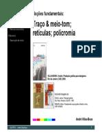 Fundamentos Traço Meio Tom Reticula e Policromia