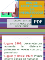 Uso de Corticoides en Neonatología