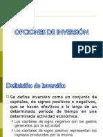 7.Opciones Inversion