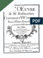 Boismortier Flautas 3 e 4