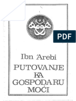 Ibn Arebi PUTOVANJE KA GOSPODARU MOĆI.pdf