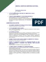 Norma Ambiental Vigente de Competencia Sectorial