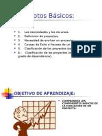 Conceptos basicos Evaluacion de Proyectos
