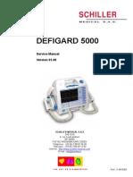 Desfibrilador Schiller 5000 Manual de Servicio