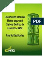 presentacion electricistas