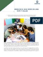 NdP - Cibertec abrirá sedes en Lima Este y Callao