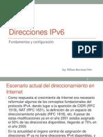 Direcciones IPv6 WMN 2014