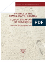 Evidence of the Roman Army in Slovenia