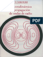 Electrodinámica y Propagación de Ondas de Radio - V.V. Nikolski