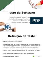 Testes 1