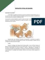 Artroplastia Total Quadril Orientacoes