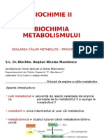 Biochimie 4 - Principii de Reglare a Cailor Metabolice CATB (an III)