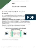 Protocolo Para Transmissão de Arquivos via Porta Serial