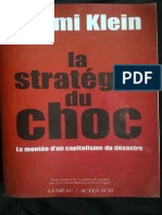 La Strategie Du Choc