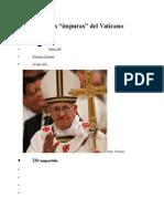 Las Finanzas Del Vaticano