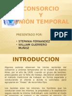 Diapositiva Consorcio y Union Temporal