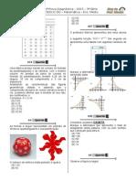 1ª P.D - 2015 (Mat. - 3ª Série E.M) - Blog Do Prof. Warles