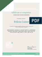 fcoiner ihi certification