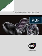 DTS Moving Head Projectors