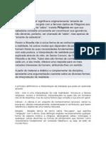 Fórum II - Filosofia e Lógica