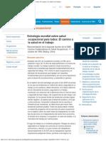 OMS Estrategia Mundial Sobre Salud Ocupacional Para Todos El Camino a La Salud
