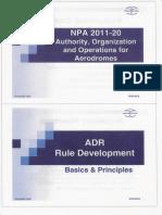 NPA (EASA) 20_2011 - Basics - Cerinte Pentru Aerodromuri