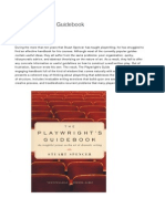 The Playwright's Guidebook | Faber & Faber