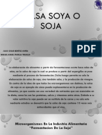 Salsa Soya o Soja