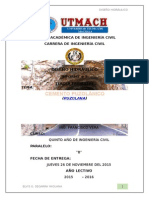 Cemento Puzolanico - Diseño Hidraulico