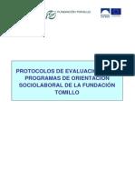 Protocolo de Evaluacion Programas de Orientacion