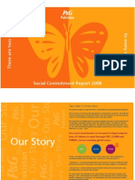 P&G Pakistan Social Commitment Report 2008