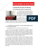 Sindicalismo de Estado No Brasil