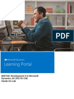 80671AE Development II in Microsoft Dynamics AX 2012 R3 CU8 HOL
