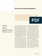 New Tactics for Production Management Schlumberger
