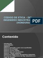 Codigo de Etica – Del Ingeniero Industrial (