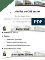 Taquiarritmias de QRS Ancho