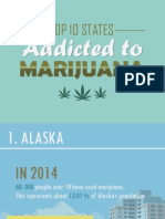 Top 10 States Addicted to Marijuana