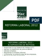Seminario Con Motivos de Las Reformas a La Ley Federal Del Trabajo