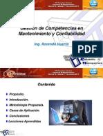 1- Ing.rosendo Huertas Gestión de Competencias en Mantenimiento y Confiabilidad