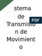 Sistema t de Movimiento
