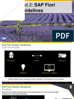OpenSAP Fiux1 Week 2 Unit 2 FDG Presentation
