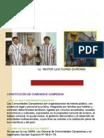 Pueblos Indigenas Comunidades Campesinas y Campesinado en El Peru