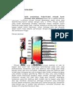 Karakteristik Dan Sifat bahan bakar