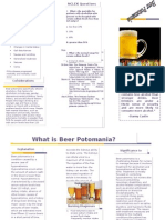 beer potomania brochure