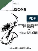 Oraisons__Sauguet