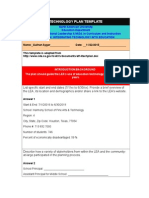 educ 5324-technology plan hsart