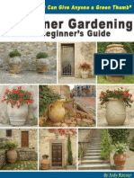 Container Gardening Ultimate Beginners Guide