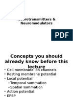 Neurotransmitters & Neuromodulators