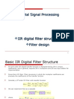 IIR Digital Filtyttyer Structures Filter Design
